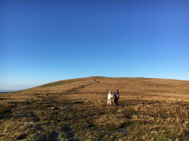 Walking to Foel Eryr