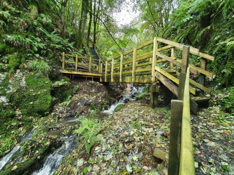 The Gwaun valley waterfall walk is one of the preseli hills walks