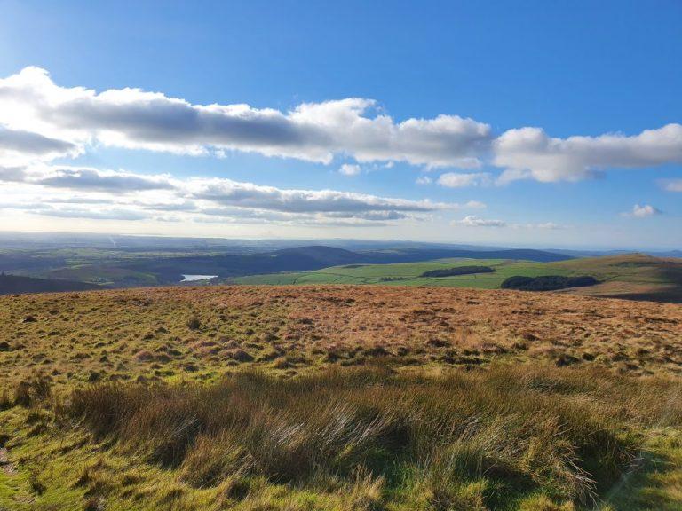 Views from Foel Cwmcerwyn