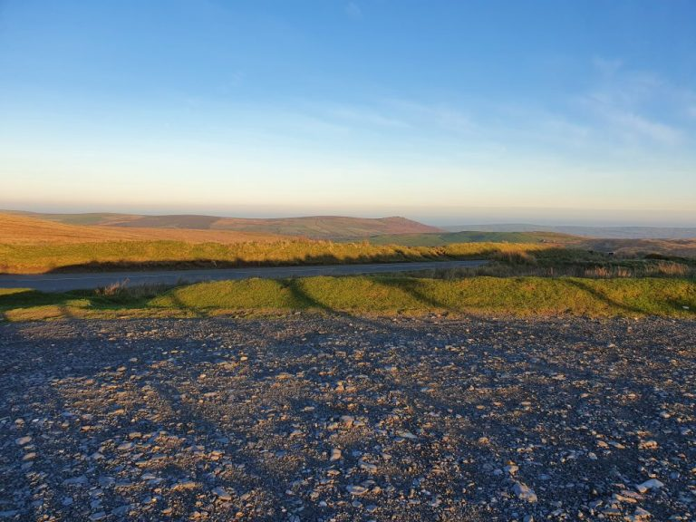 The Preseli Hills Golden Road car park