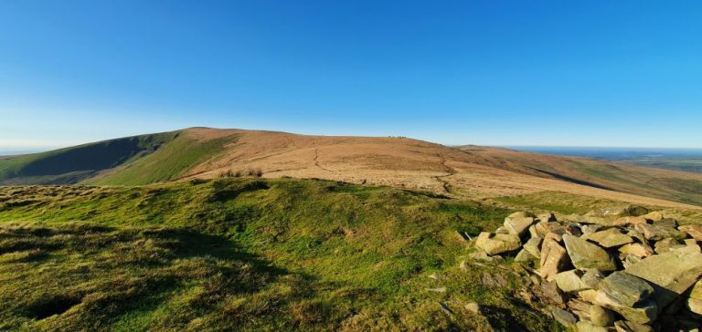 Foel Feddau on The Preseli Hills Golden Road
