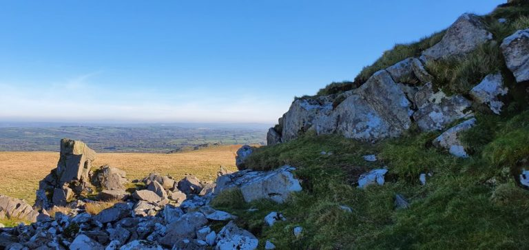 Carn Bica on The Preseli Hills Golden Road