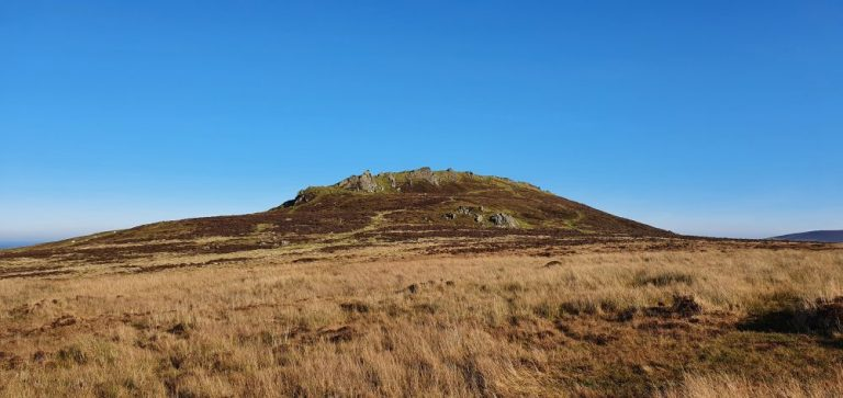 Foel Drygarn on The Preseli Hills Golden Road