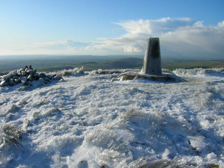 Foel Cwmcerwyn in the snow