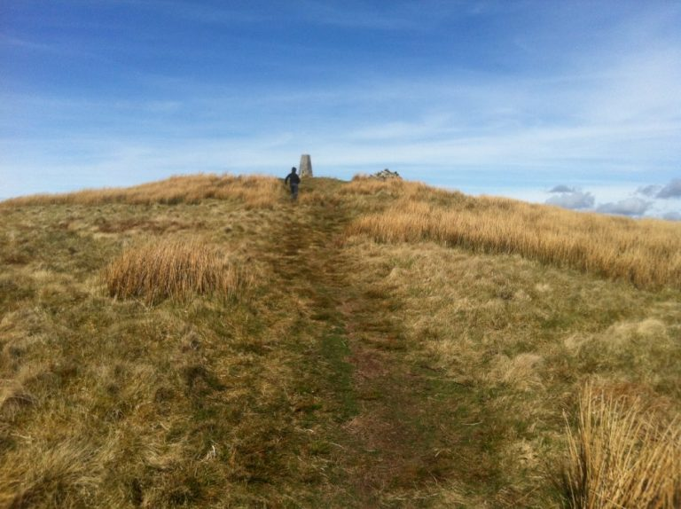 The walk to Foel Cwmcerwyn