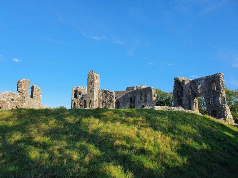 Castles in Pembrokeshire Llawhaden Castle
