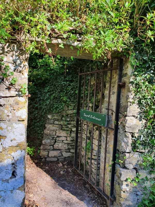 Manorbier Castle secret entrance