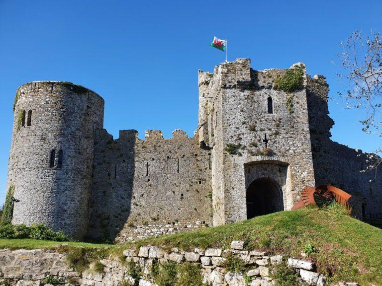 Castles in Pembrokeshire Manorbier