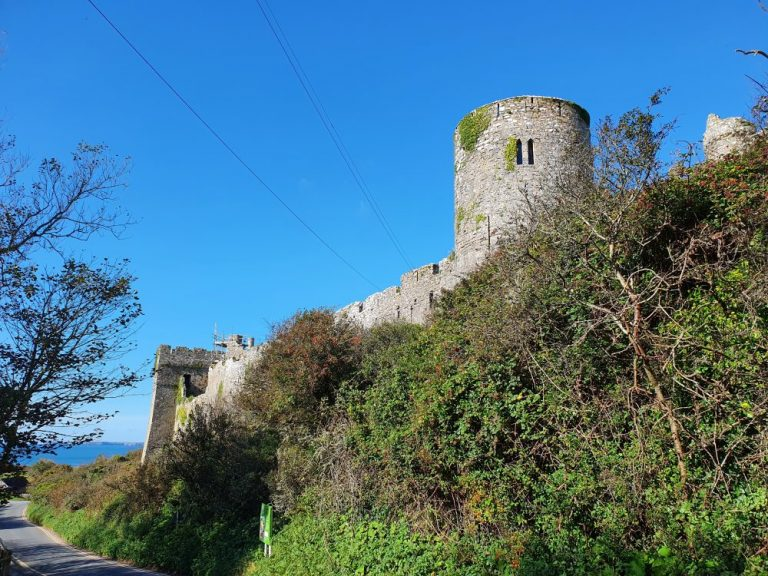 Thoughts on Manorbier Castle