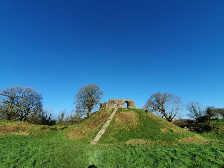 Castles in Pembrokeshire Wiston
