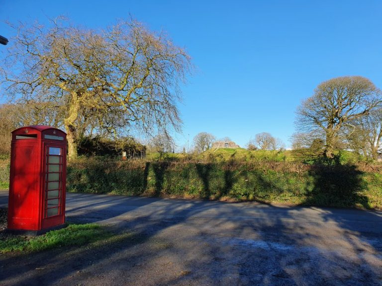 Where to park for Wiston Castle