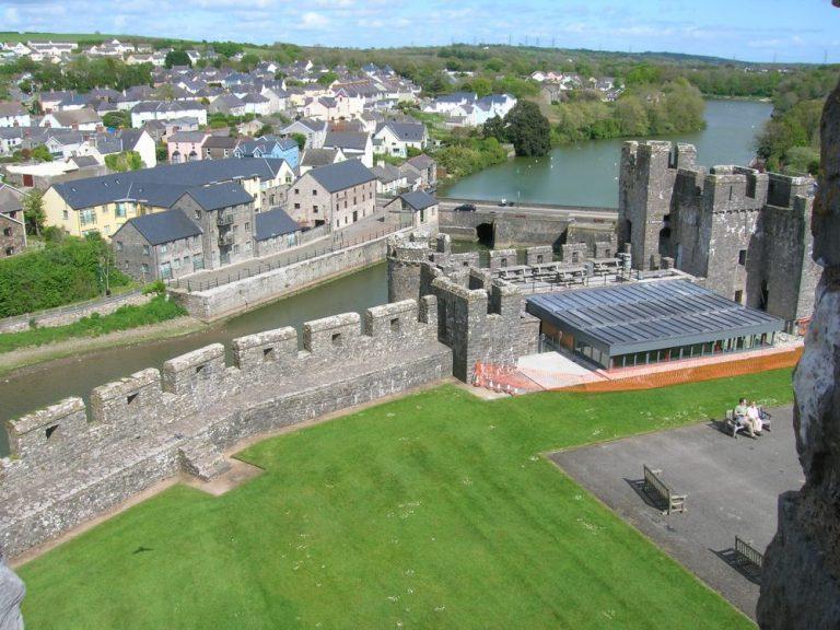 Views from Pembroke Castle