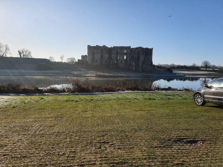 Carew Castle Car park