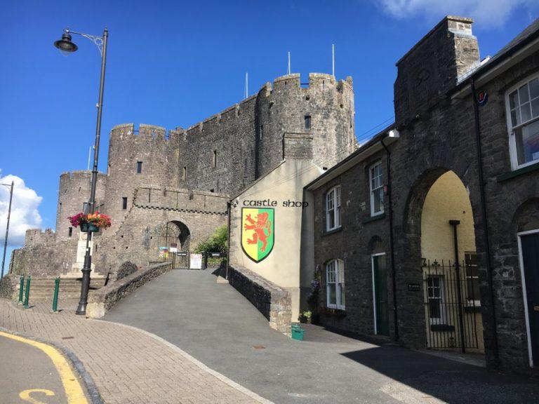 Where to park for Pembroke Castle