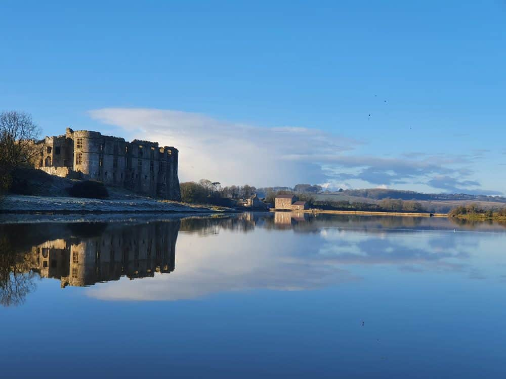 Carew Castle circular walk