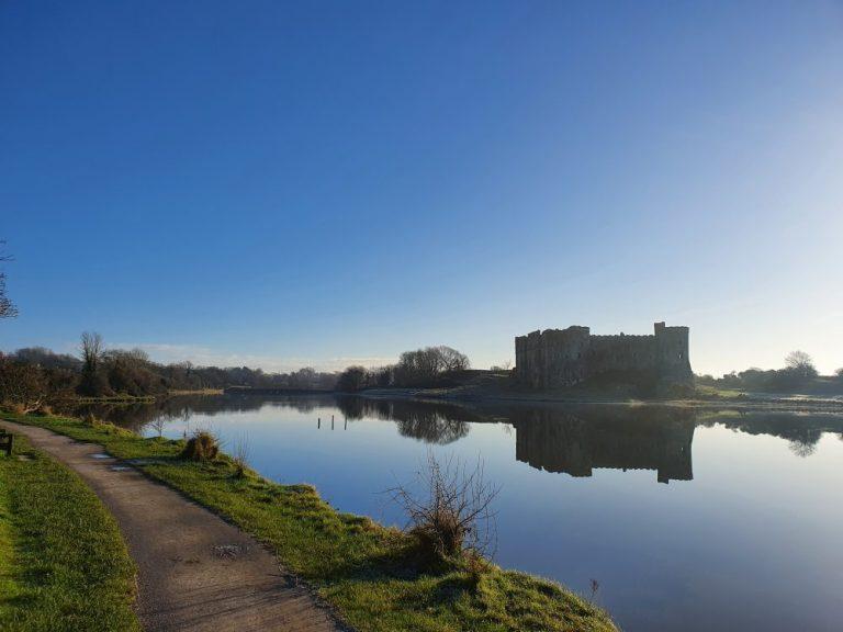 Carew Castle circular walk