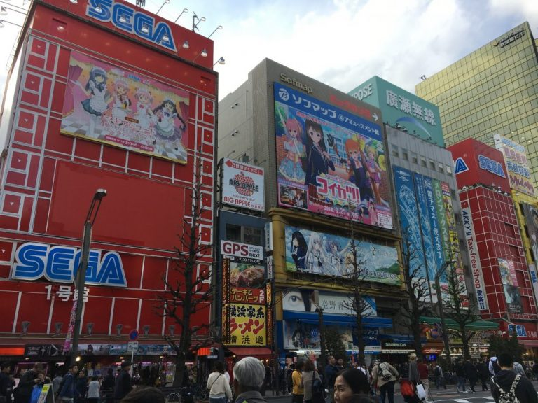 Electric Town Akihabara is one of the things to do in tokyo for free