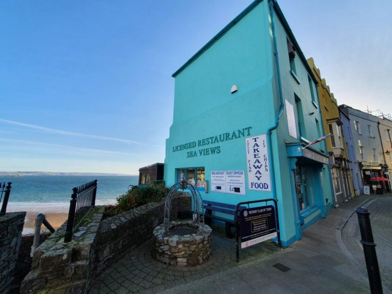 Tenby seaview cafe