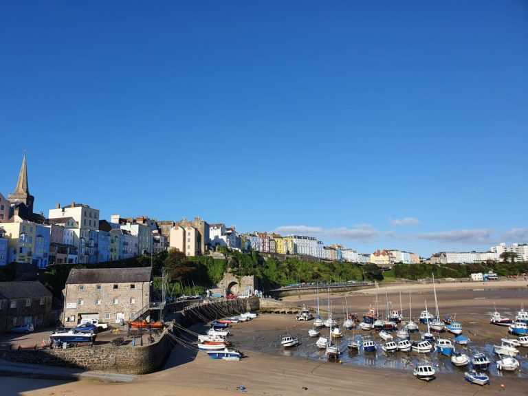 Beaches in Tenby - Harbour