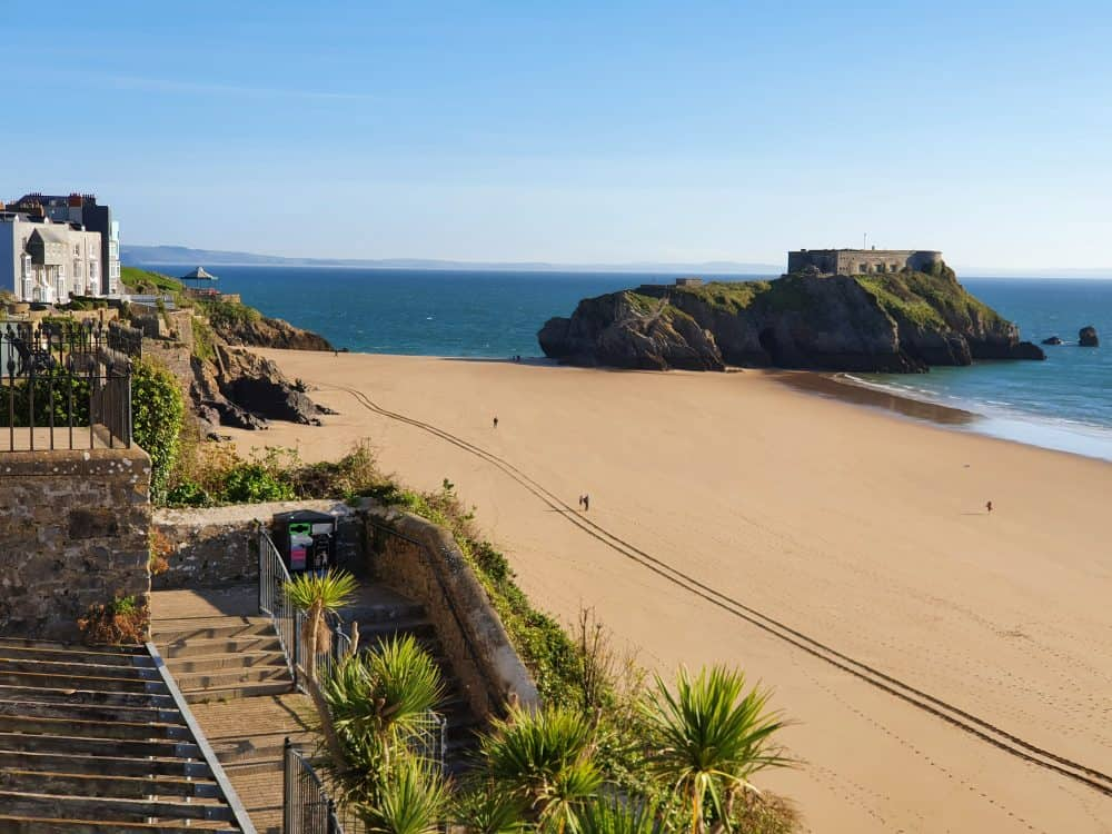 Beaches in Tenby