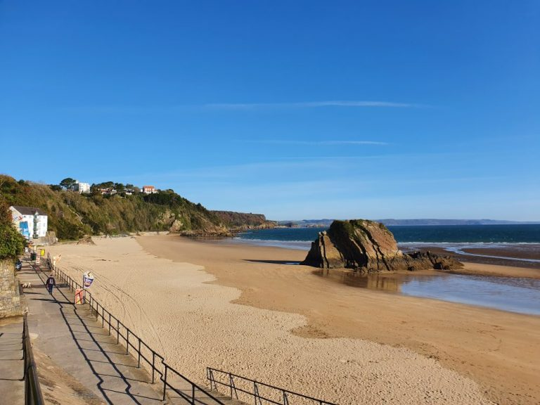 Beaches in Tenby - North