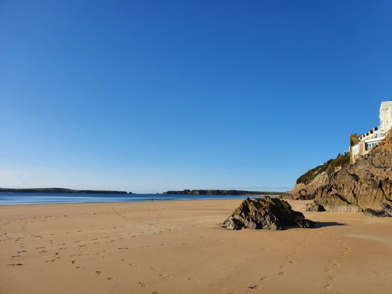 From Tenby Castle Beach to Tenby South Beach