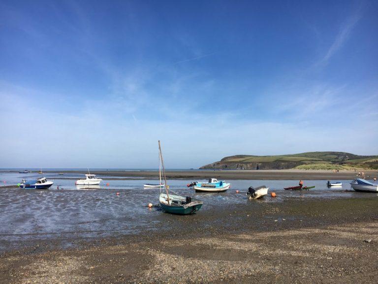 Beaches in Newport - The Parrog