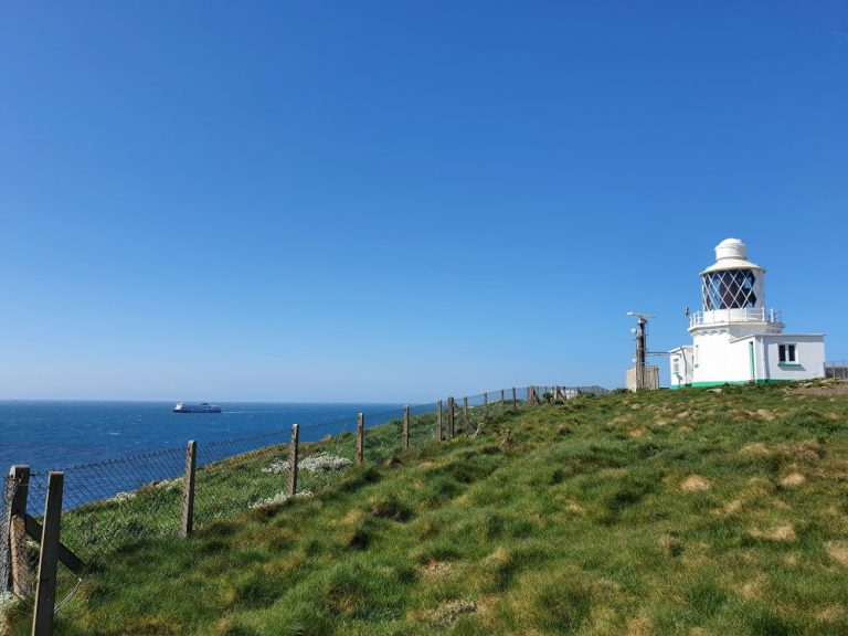 St Ann's lighthouse on Dale Circular Walk