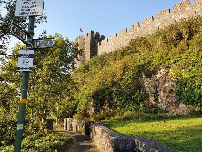 Pembroke Castle Walk start