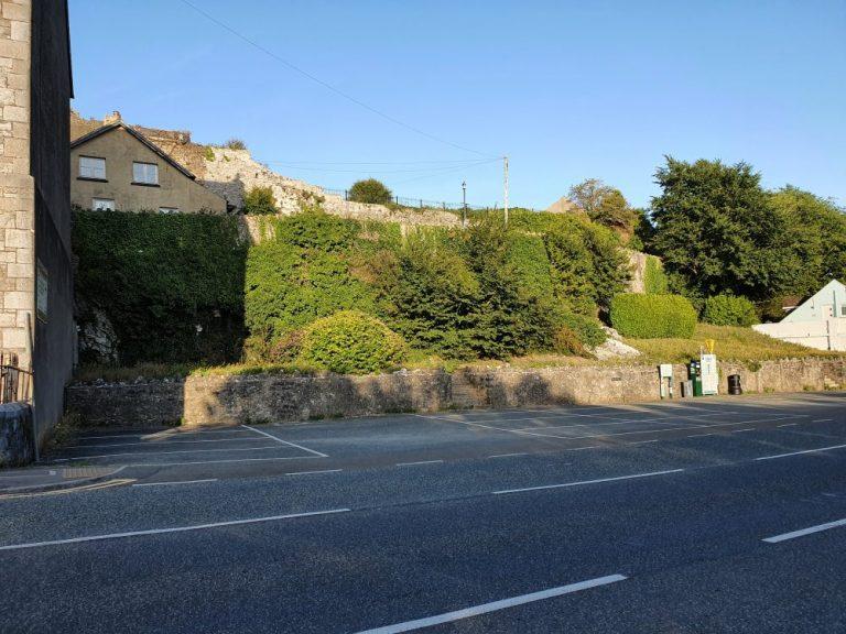 Where to park for Pembroke Castle walk